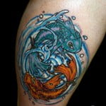 Free Pisces Tattoos Designs