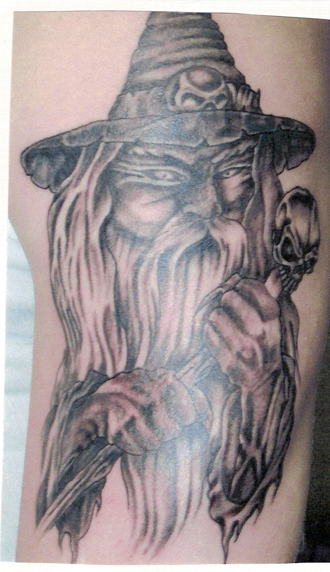 Free Wizard Tattoos Designs