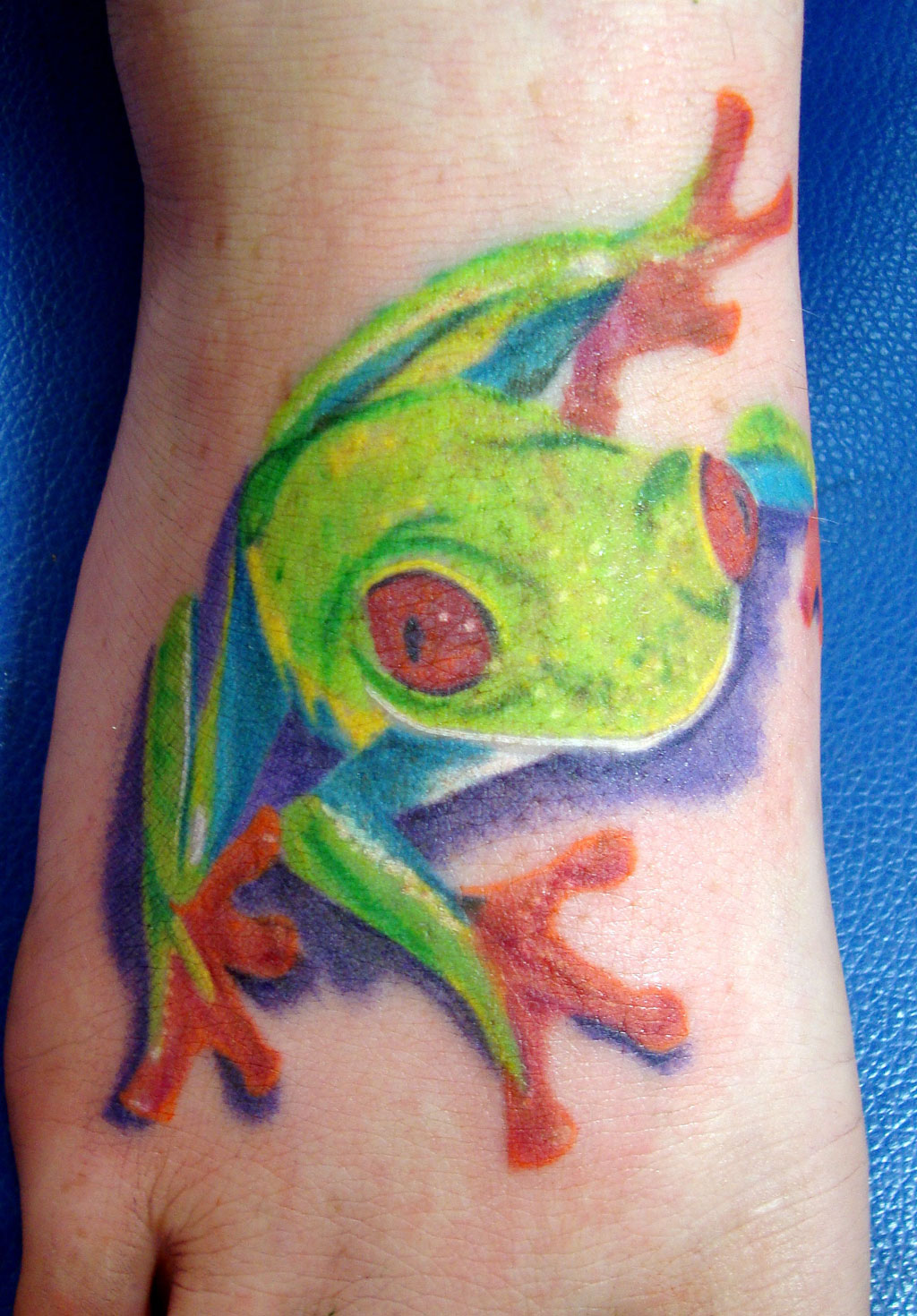 Frog Tattoos For Girls