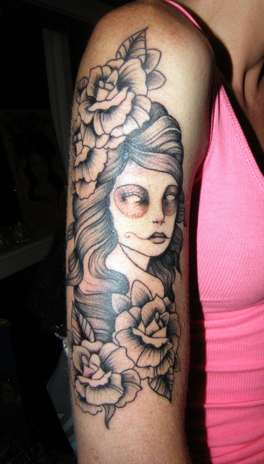 Girl Tattoos On Arm