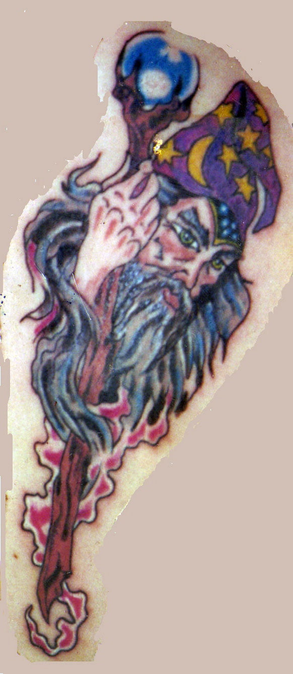 Wizard Tattoos Designs