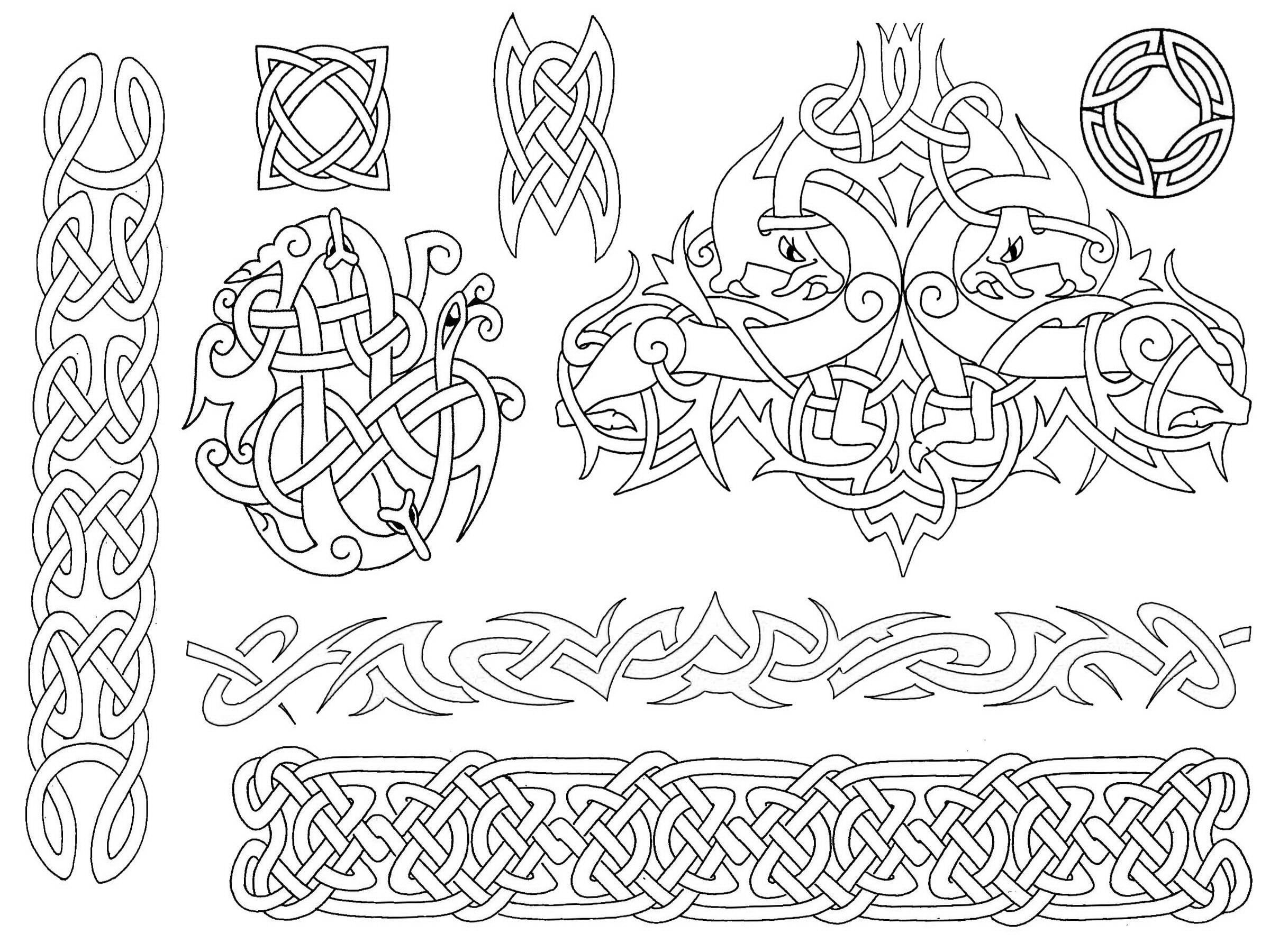 Celtic tattooes presentations